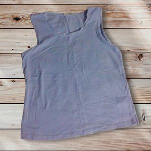 Blue Vintage Avon Tank Top